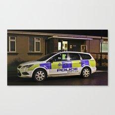Tayside Police Car Canvas Print