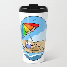 Summer Umbrella Travel Mug