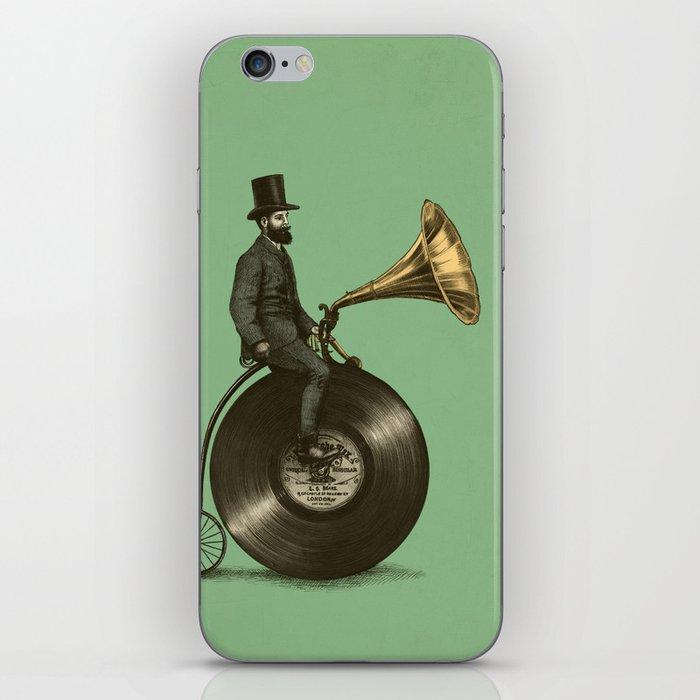 Music Man (Green Option) iPhone Skin