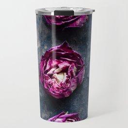 Three Rose Buds II Travel Mug