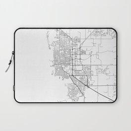 Minimal City Maps - Map Of Boulder, Colorado, United States Laptop Sleeve