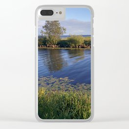Blue Waters Clear iPhone Case
