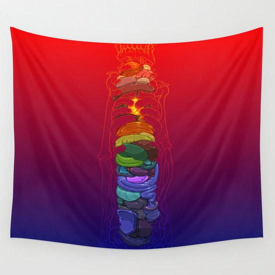 Totem Wall Tapestry