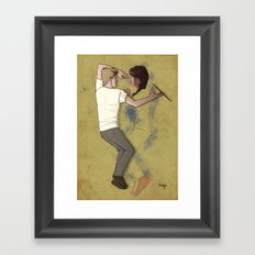 Always. Framed Art Print