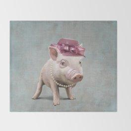 Miss Piggy Throw Blanket