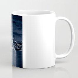 Toronto Skyline, Blue Coffee Mug