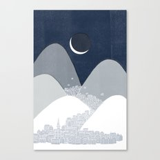 Bleak Midwinter Canvas Print