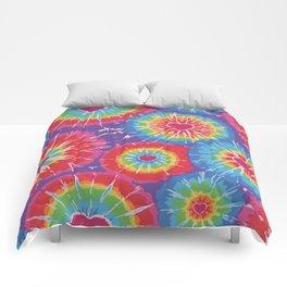Love Tye Dye Comforters