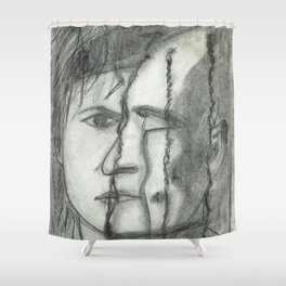 Bruno & Stefan - Band - Das Ich Shower Curtain