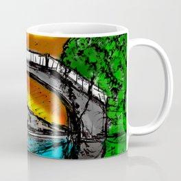 Bridge Reflection Marker #2 colored Coffee Mug