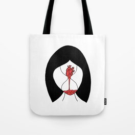 What it feels when love has an expiration date. Tote Bag