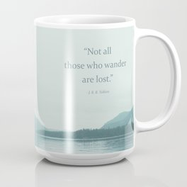 Blue Lake + Tolkien Quote Coffee Mug