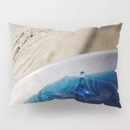 Water Droplet Moment Captured Pillow Sham