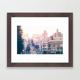 Hills of San Francisco Fine Art Print  • Travel Photography • Wall Art Framed Art Print