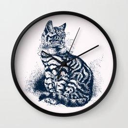 Vintage Kitty Cat Club Wall Clock