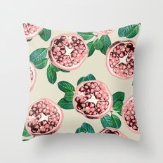 Pomegranate V2 #society6 #decor #buyart Throw Pillow