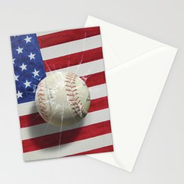 Baseball - New York, New York Stationery Cards