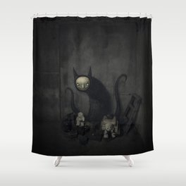 El tesoro Shower Curtain