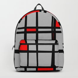 Gridlock - Abstract Backpack