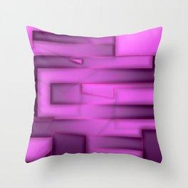 Soft & hard, light & dark ... Throw Pillow