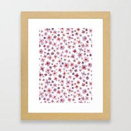 Macro #3 -Butterfly Bush Framed Art Print