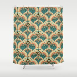 A Deco Garden Shower Curtain