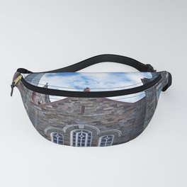 Church and Clouds Fanny Pack