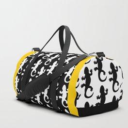 Black Lizard Duffle Bag