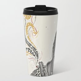 MARLON BRANDO - Quotes Art Travel Mug