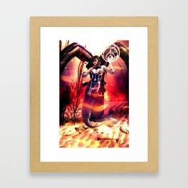 meraculous tarot :: death Framed Art Print