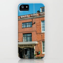 The oldest hotel in the city of Norwich iPhone Case