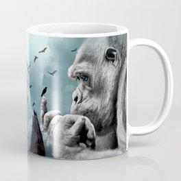 Gorilla discovers crows by GEN Z Coffee Mug