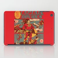 captain iPad Cases featuring Captain Obvious! by Joshua Kemble