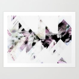 Diamond Dust Art Print