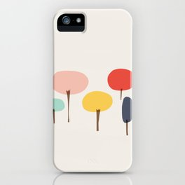 Glass Trees iPhone Case