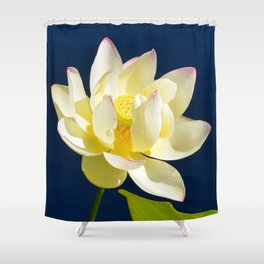 Lotus Flower by Teresa Thompson Shower Curtain