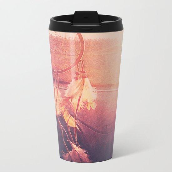 Dream Catcher Metal Travel Mug