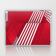 Optical illusion_red Laptop & iPad Skin