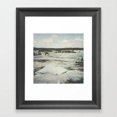 Path Through Time Framed Art Print