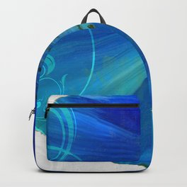Poppy Blues I Backpack