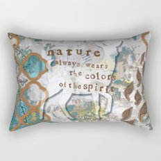 Nature Spirit Rectangular Pillow