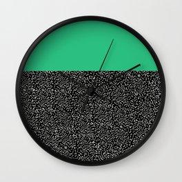 Turquoise Change Wall Clock