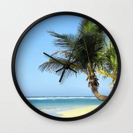 Beach_20180101_by_JAMFoto Wall Clock