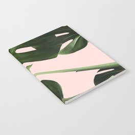 Monstera x Pink Notebook