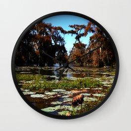 Cypress Swamp - Lake Martin LA Wall Clock