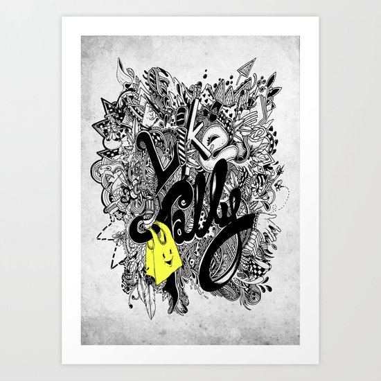 Like TOTEStally Art Print