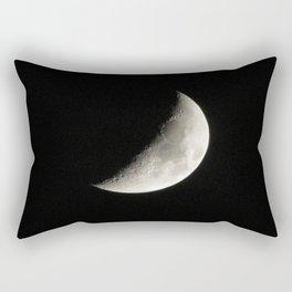 Waxing Crescent Moon  Rectangular Pillow
