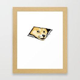 Ceiling Doge Framed Art Print