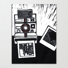 I dream in Polaroid  Canvas Print