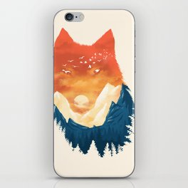 Wild Sunset iPhone Skin